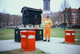 Garbage Men Take Amazing Photos With Giant Dumpster Cameras
