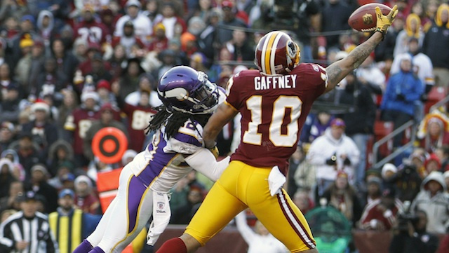 Jabar Gaffney Thinks The Redskins Want To Trade Him Because Of His Twitter Rant