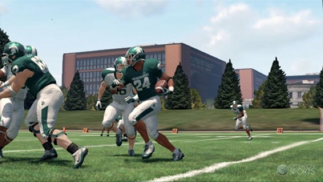 The Spartans Will Fight in the (Correct) Shade in NCAA Football 13