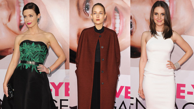 Leelee Sobieski Didn't Look Like Helen Hunt at The Five Year Engagement Premiere