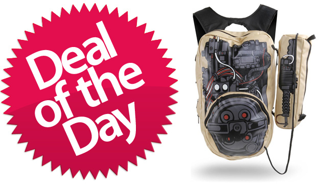 This Ghostbusters Backpack Is Your Who-Ya-Gonna-Call Deal of the Day