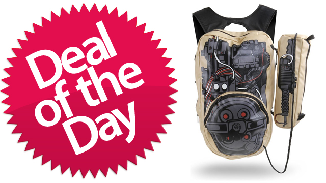 This Ghostbusters Backpack Is Your Who-Ya-Gonna-Call Deal of the Day [Dealzmodo]