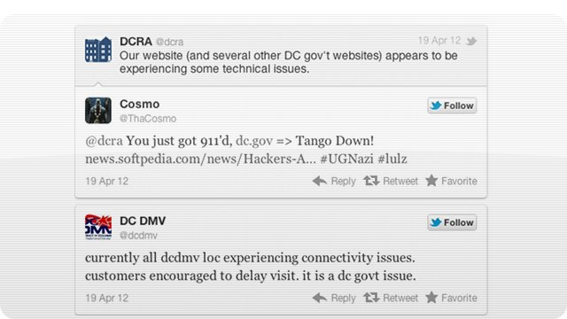 Click here to read Clueless Hackers Took Down DC Government Sites Thinking They Were Attacking the Feds