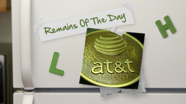 Click here to read Remains of the Day: AT&T Doubles Data Caps on Prepaid, Makes Voice Mandatory