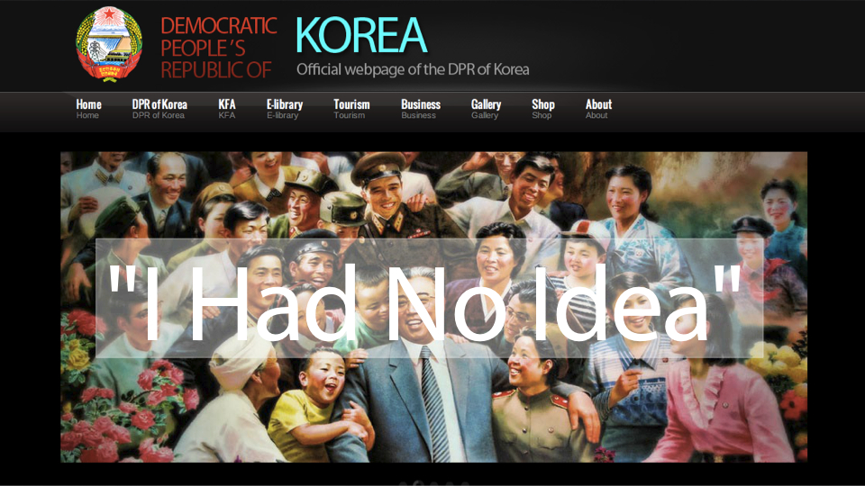 Click here to read Meet the American Who Designed North Korea's Atrocious Website