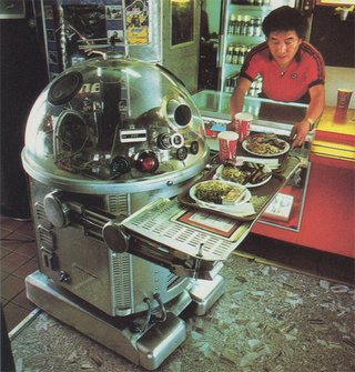 The Robotic, Disco-Loving Waitstaff of the 1980s