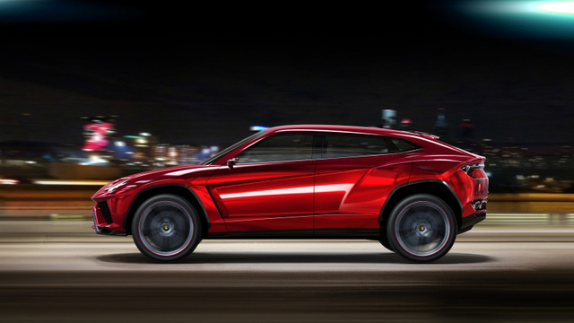 Lamborghini Urus: Press Photos