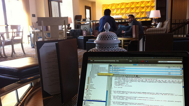 Head to a Hotel Lobby Instead of Starbucks for a Better Place to Work Away from Home