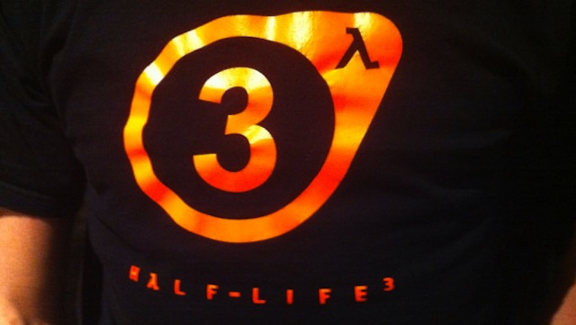 Half-Life 3 T-Shirt Confirmed, But That is All