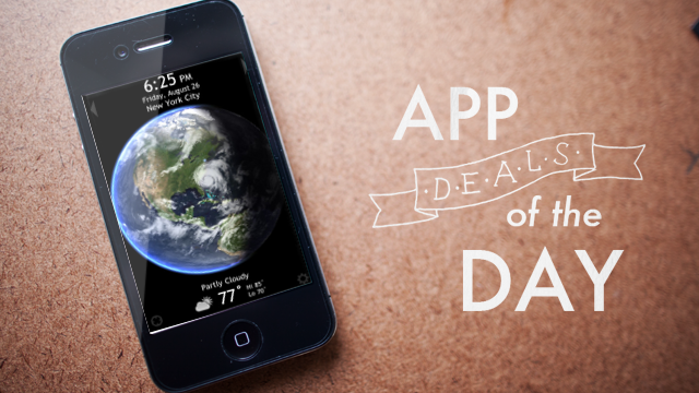 Click here to read Daily App Deals: Get Living Earth HD for iOS for 99¢  in Today's App Deals