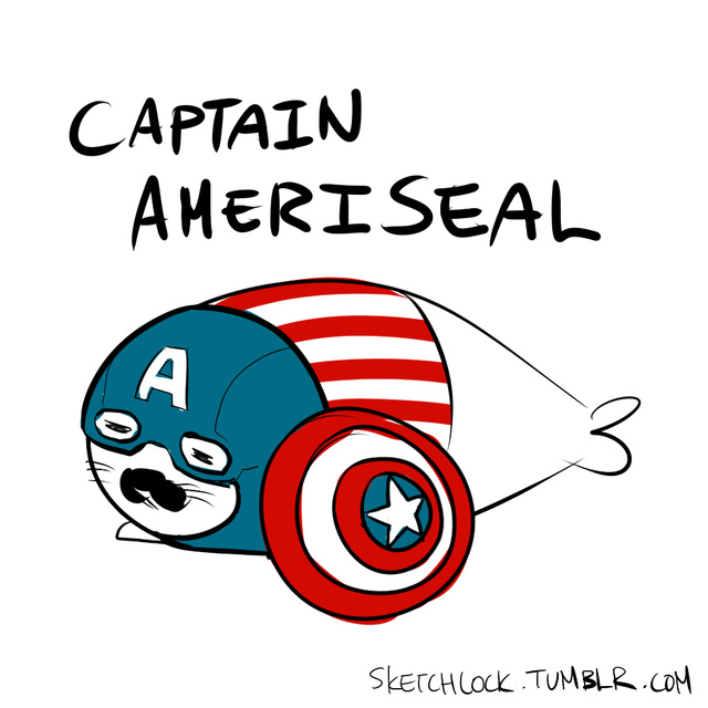 Baby seal Avengers are Earth's cutest heroes