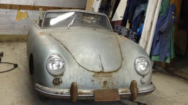 Barn Find 1953 Porsche 356 Is A Pricey Project