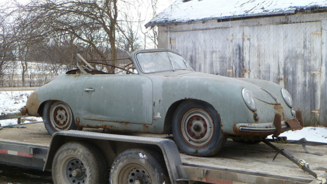 Click here to read Barn Find 1953 Porsche 356 Is A Pricey Project