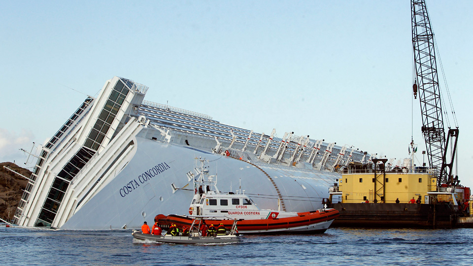 Click here to read Giant Airbags Will Be Used To Float the Costa Concordia Back To Port