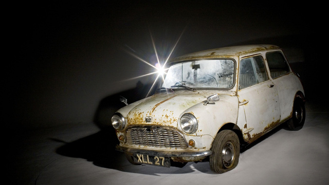 The Oldest Unrestored Mini In The World Heads To Auction