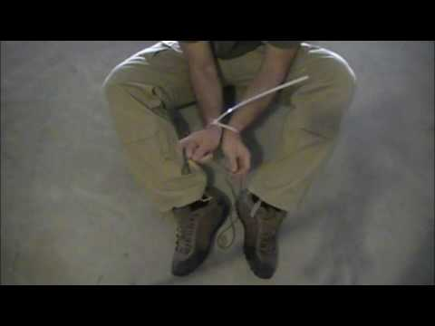 Click here to read Escape Zip Tie Restraints with Paracord Shoelaces