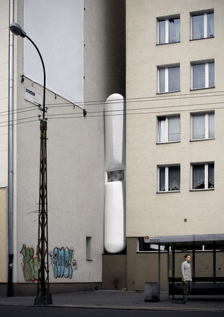 World's narrowest house will be less than 60 inches wide