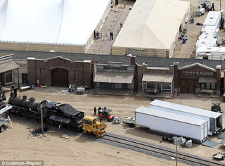 Lone Ranger Set Photos Gallery