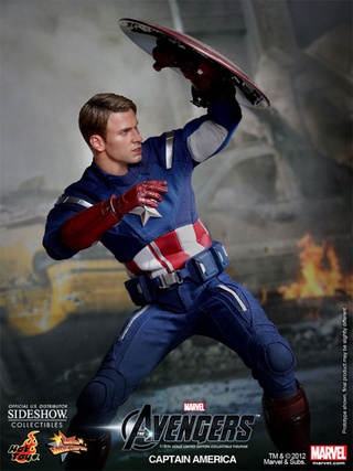 Captain America's Life-Like Action Figure, Reporting For Duty