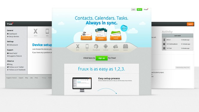 Fruux Synchronizes Your Contacts, Calendars, and To-Dos Across Systems, OSes, and Devices for Free