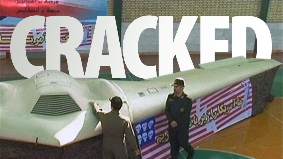 Click here to read Iran Cracks US Stealth Spy Drone's Secrets, Shows Proof