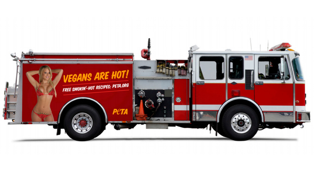 PETA Wants To Put Bikini-Clad Vegans On Baltimore Fire Trucks