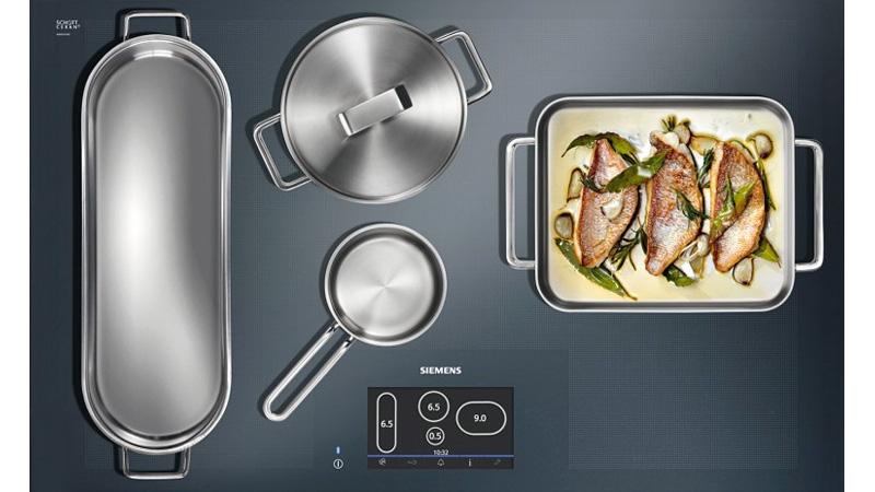Click here to read Full Surface Induction Cooktop Gives You the Freedom To Place Your Pots Anywhere