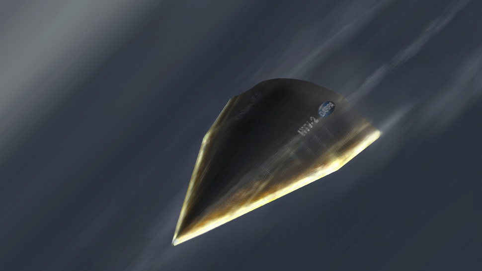 The Air Force's Secret Hypersonic Glider Flew So Fast Its Skin Fell Off