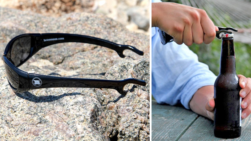 Click here to read Bottle Opener + Sunglasses = Beer Goggles?