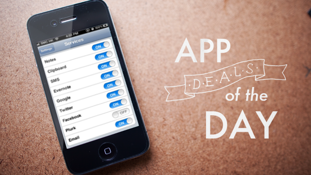 Click here to read Daily App Deals: Get Note & Share for iOS for 99¢ in Today's App Deals