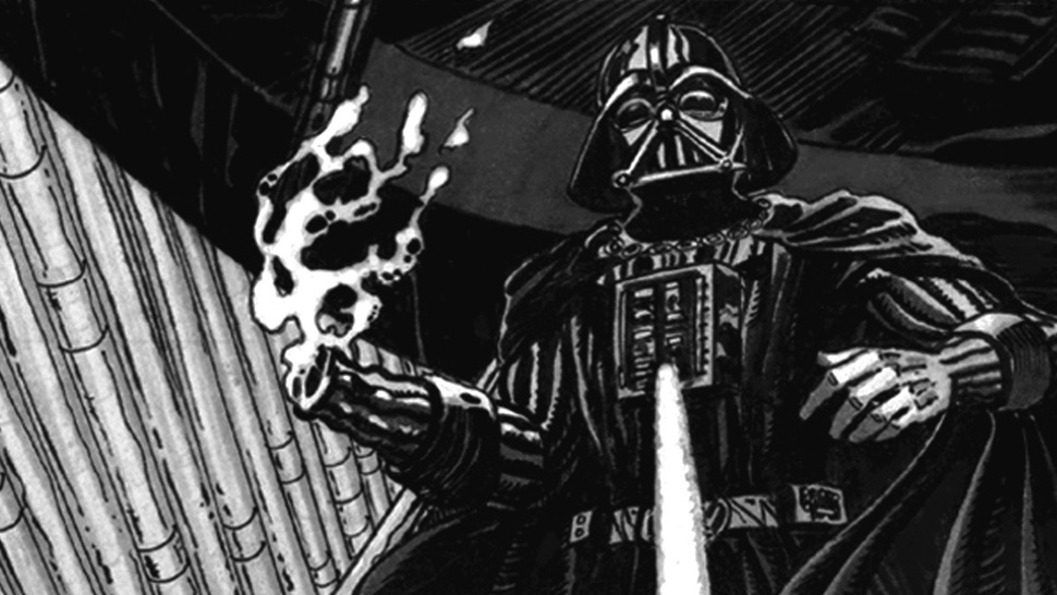What if the Emperor was more monstrous? Check out some insane <em>Return of the Jedi</em> storyboards!
