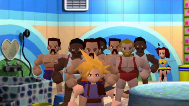 In Final Fantasy VII, Soap Wasn't Only for Cleaning. It Was for Sex.