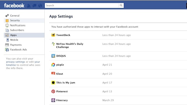 Click here to read Clean Out Your Facebook App Permissions as Part of Your Spring Cleaning Regimen