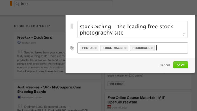 Click here to read Stashmarks Makes Your Bookmarks Searchable in Chrome (and We've Got Invites)