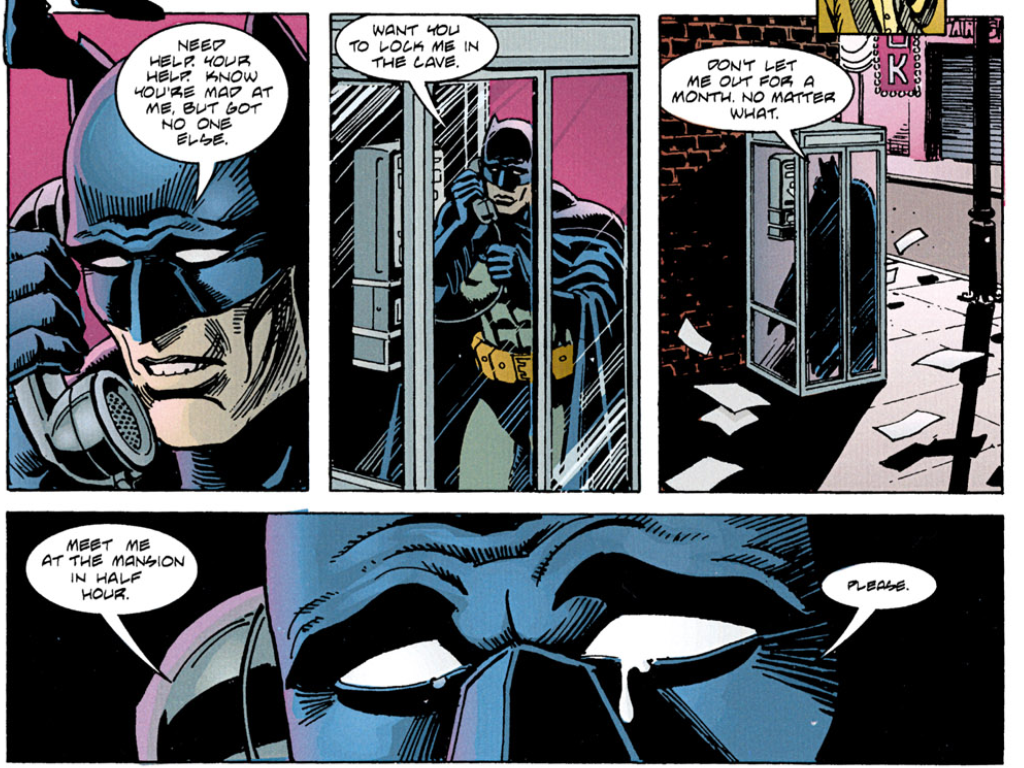 bruce wayne on drugs one of the best batman stories ever
