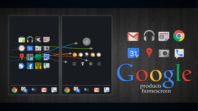 The Pure Google Home Screen