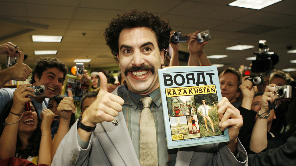 Kazakh Foreign Minister Says <em>Borat</em> Responsible for Tourism Boom