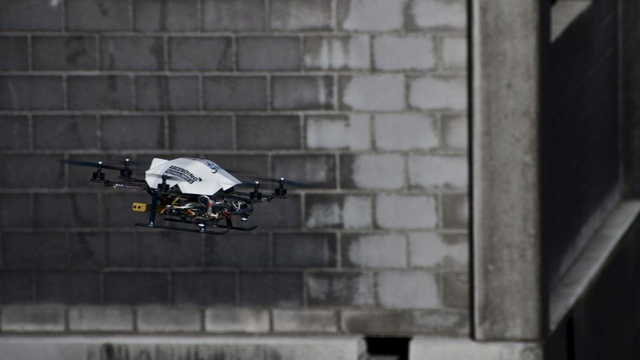 The Drone That Will Never Stop for Directions