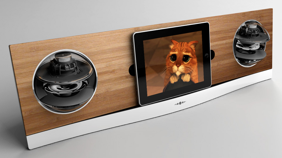 Click here to read An iPad Dock That Actually Looks Better Than Your Tablet
