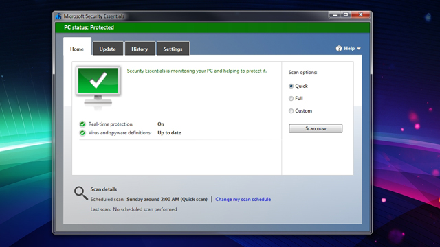 Click here to read Microsoft Security Essentials Updates with Better Performance, Virus Detection, and Interface Changes