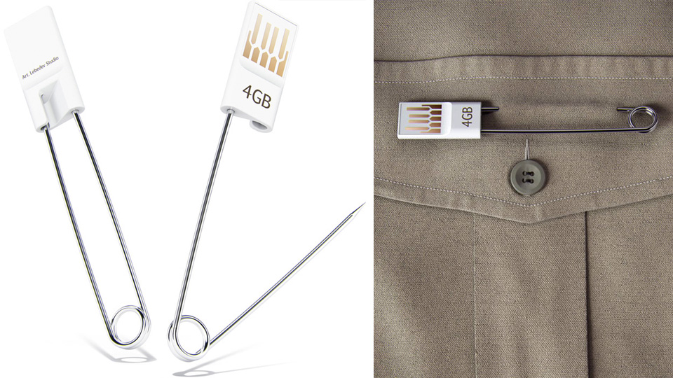 Click here to read Safety Pin Flash Drive Makes an I-Always-Lose-Things Fashion Statement