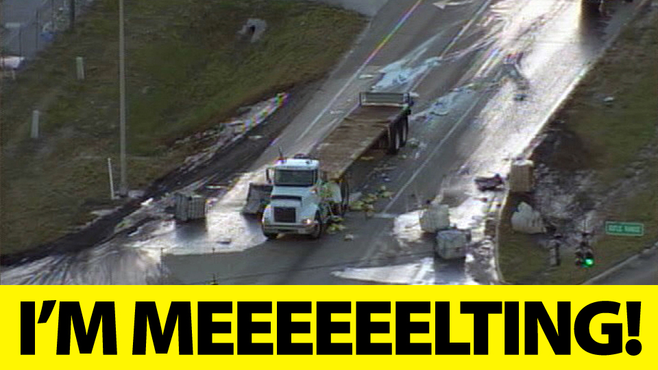 Click here to read If a Truck Loaded With Sulfuric Acid Crashes, Does It Melt the Road?