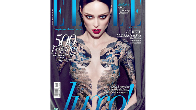 Top Model Coco Rocha Slams Mag for Photoshopping Off Her Underwear