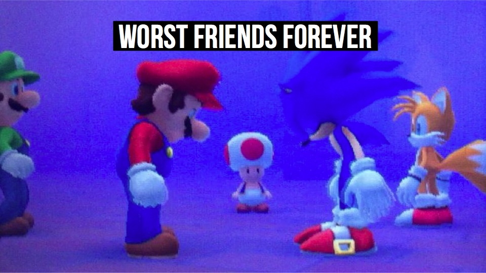 Click here to read The Sorry State of <em>Mario</em> & <em>Sonic</em>, Gaming's Worst Team-Up