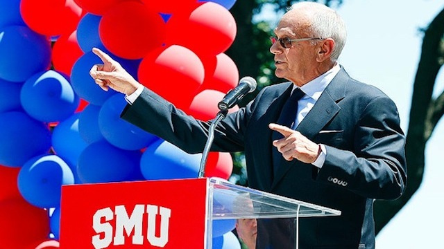 Larry Brown Swears He's At SMU For The Long Haul