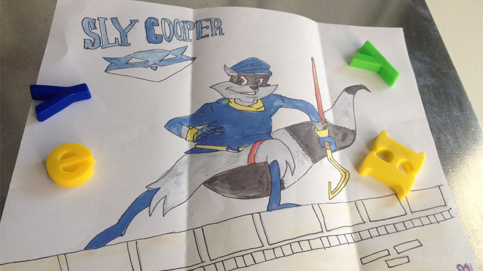 Click here to read A Story About Sly Cooper, By Mark Serrels, Aged 30