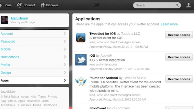Clean Out Your Twitter App Permissions as Part of Your Spring Cleaning Regimen