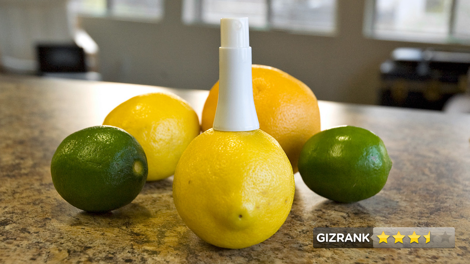 Quirky Stem Lightning Review: Stab a Fruit and Spray its Juice