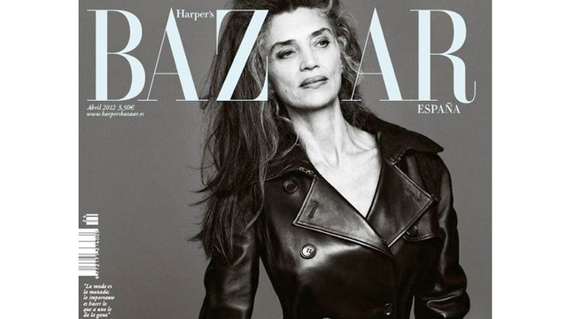 Harper's Bazaar Cover Dares To Show A 56-Year-Old Woman's Wrinkles