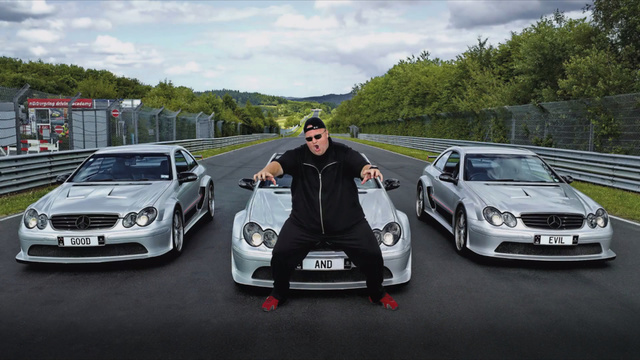 Watch Kim Dotcom Race An F1 Driver In Video 'Seized By The FBI'